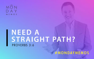 Need a Straight Path?