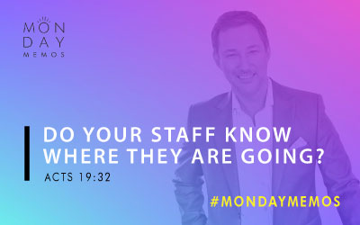 Do Your Staff Members Know Where They Are Going?