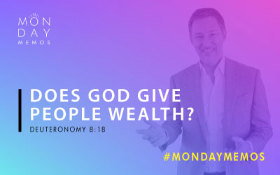 Does God Give People Wealth?
