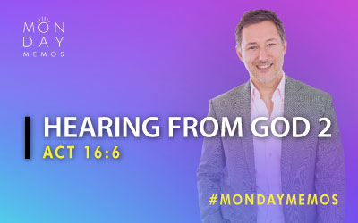 Hearing From God #3